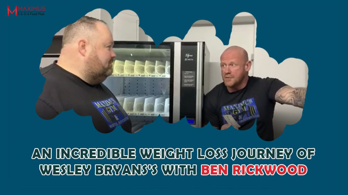Wesley Bryan's An Incredible story of Transformation – 1,2,3,4FoodPlan