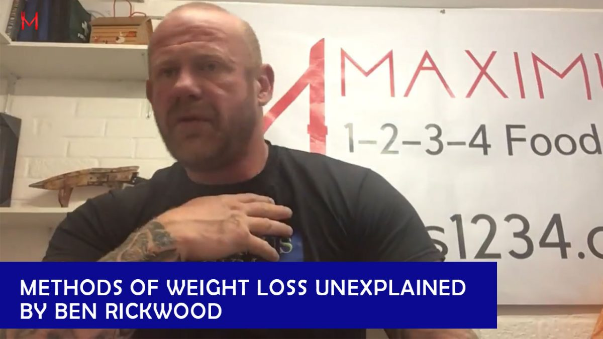 Methods of weight loss unexplained by Ben Rickwood – Health & Fitness : 1234 FoodPlan