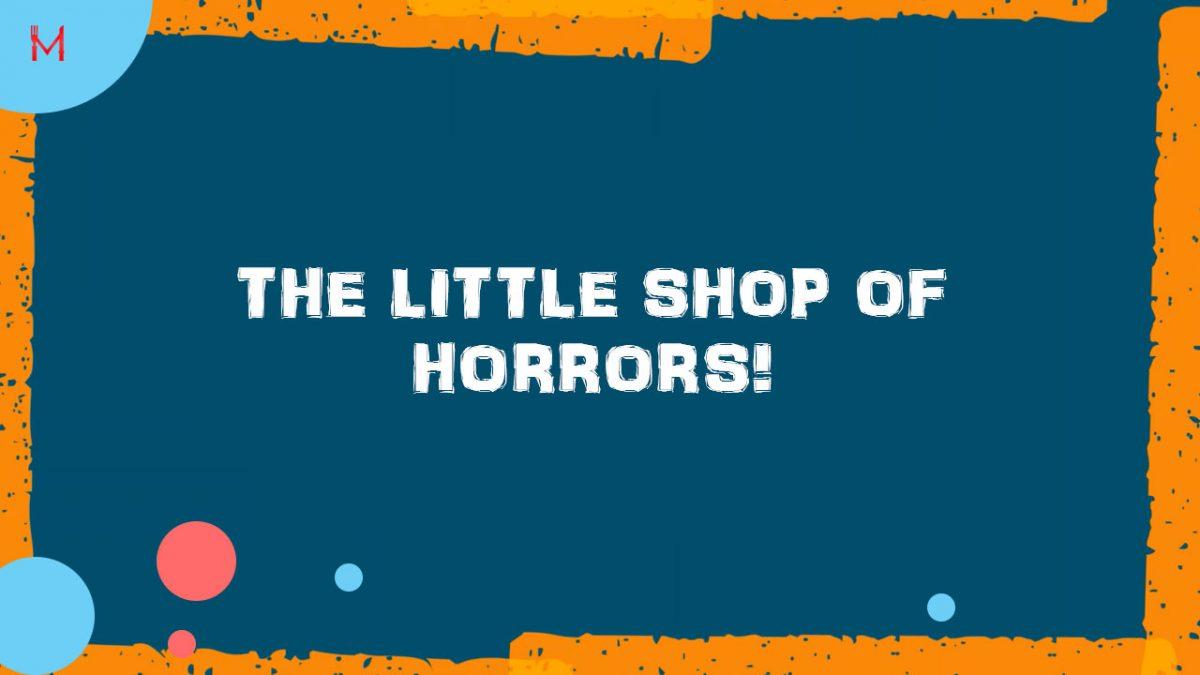 The little shop of horrors – Ben Rickwood II 1234 Food Plan II Weight Loss