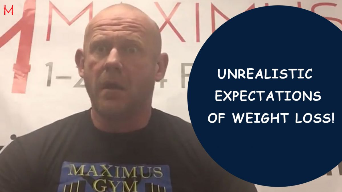 Unrealistic expectations of weight loss! – 1234 Food Plan with Ben Rickwood
