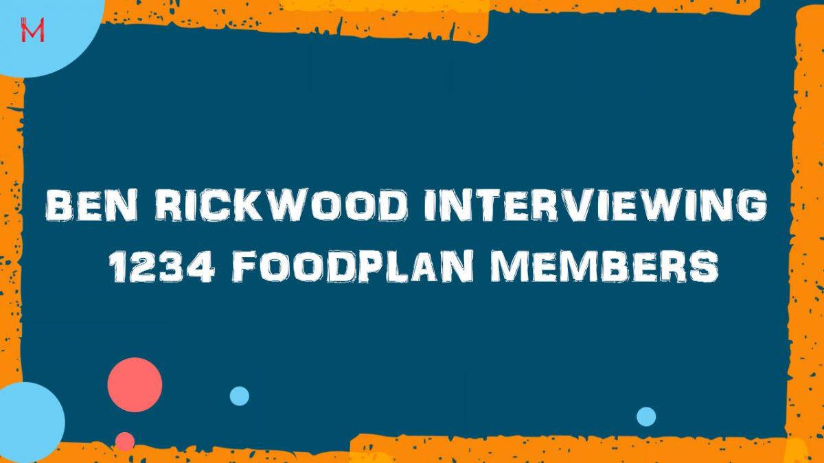 Ben interviewing 1234 Members-Weight Loss Journey
