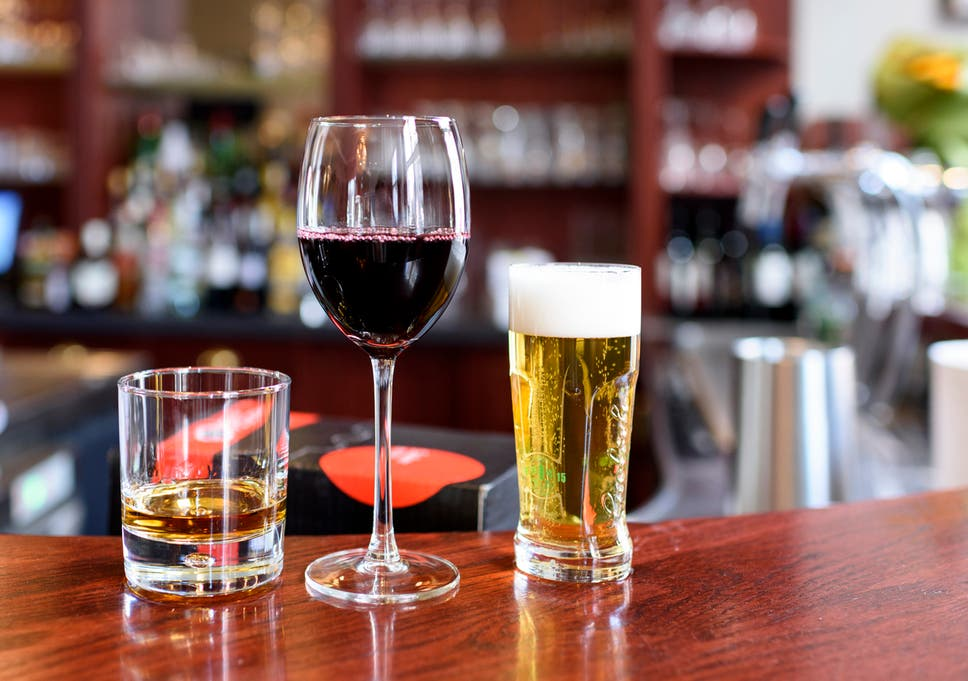 Healthy Alternatives to Beer & Wine