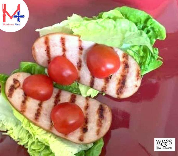 Turkey Bacon, Baby Gem & Cherry Tomato