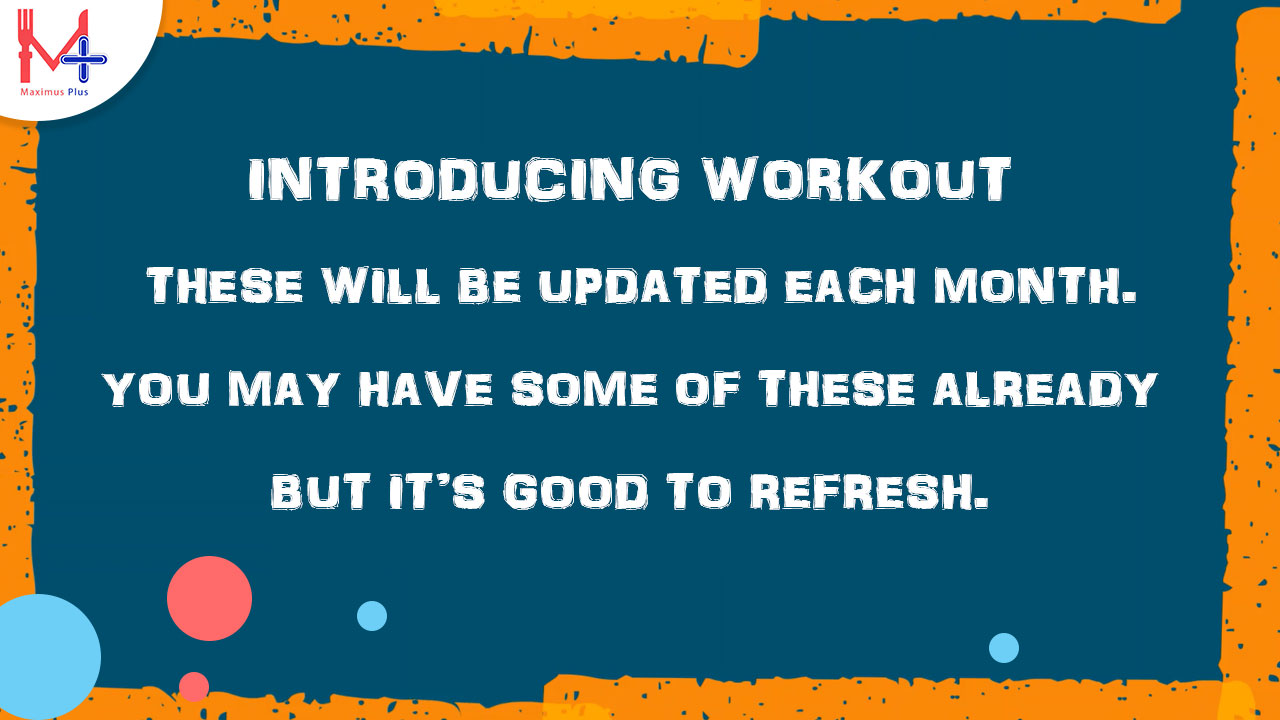 Introducing Workout