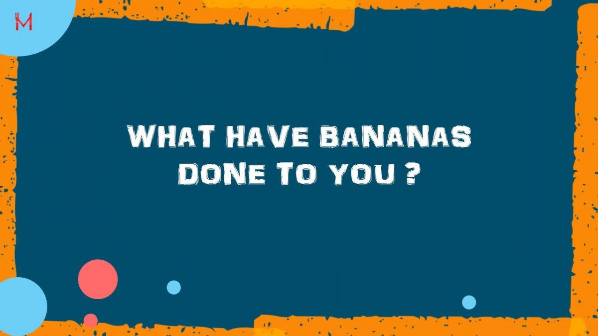 What have bananas done to you? Weight Loss – Food Coach – Personal Trainer