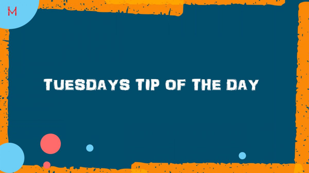 Tuesdays top tips!!!😀Nuggets of info that can really make your day
